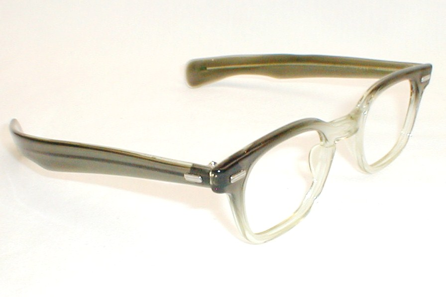Mens Vintage Eyeglasses Frames Black Tart Optical Countdown