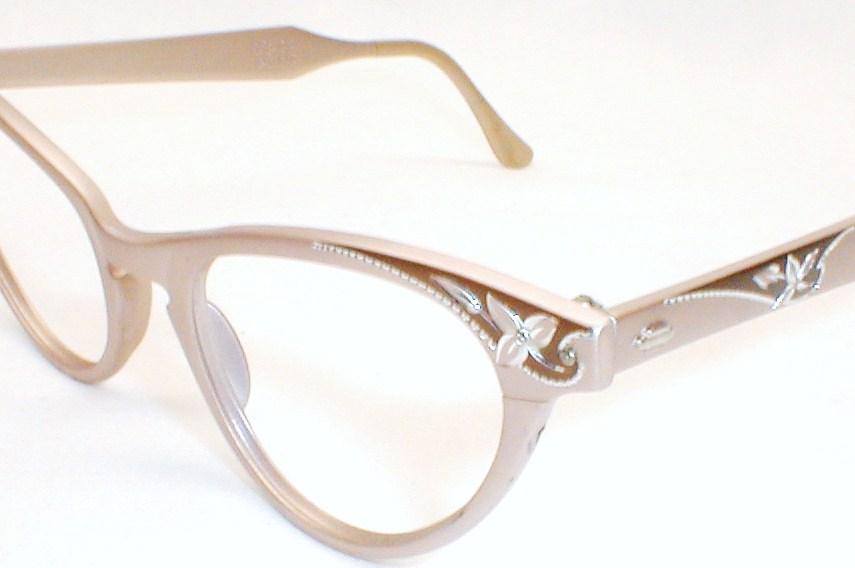 vintage womens eyeglasses frames cat eye luxury craft