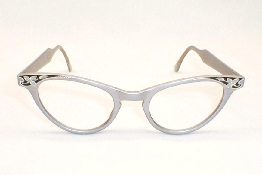 Womens vintage art craft rhinestone 50s 60s cat eye art for Art craft eyeglasses vintage