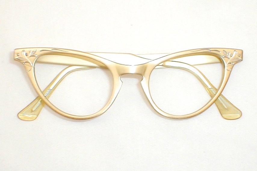 Art craft womens vintage 50s 60s cat eye glasses for Art craft eyeglasses vintage