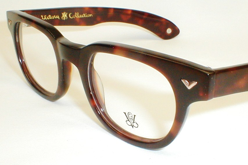 Men s Eyeglass Frames : Vintage Mens Eyeglass Frames, Bankers, Walnut