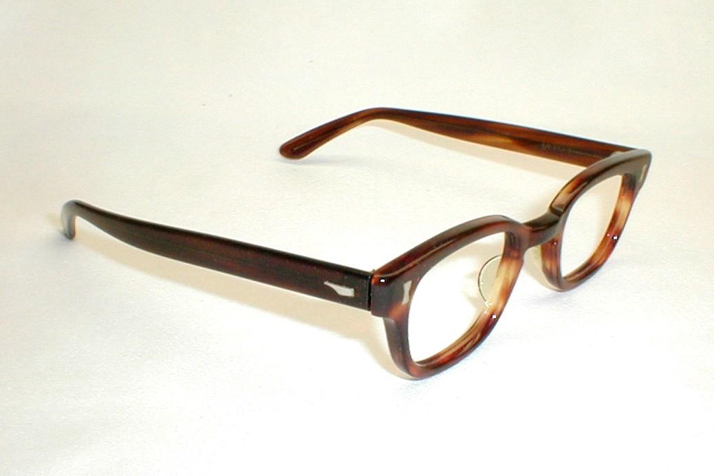 mens vintage eyeglasses 1960s tortoise eyewear