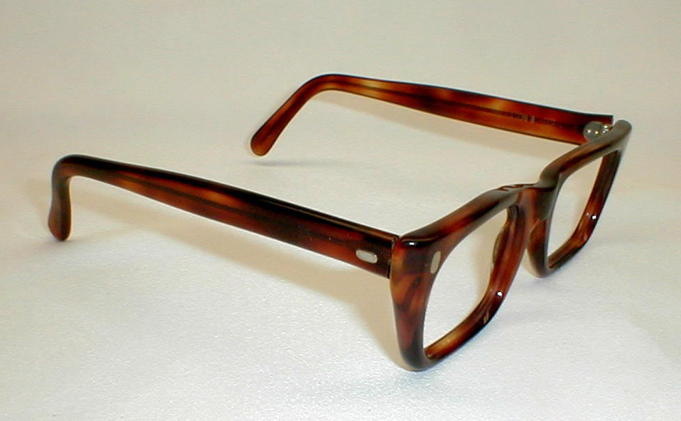 Mens Glasses Frames For Big Heads : Mens G-Man Large Tortoise Eyeglasses Frames