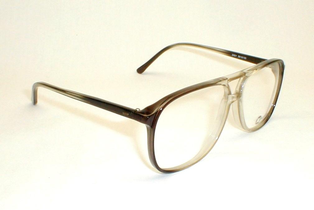 Large Frame Mens Glasses : Mens Vintage Eyeglasses, Large Oversized Frames