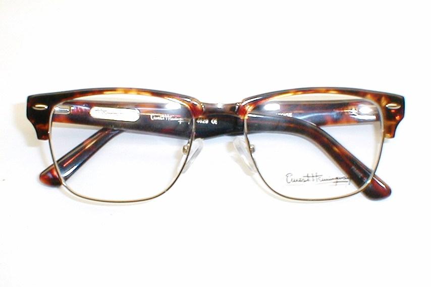mens vintage g man eyeglasses clooney by ernest hemingway - Ernest Hemingway Frames