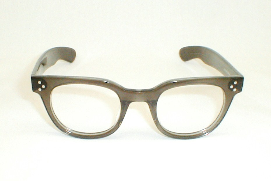 Mens Vintage G-Man Eyeglasses, FDR Gene Hackman, Tart, FDR