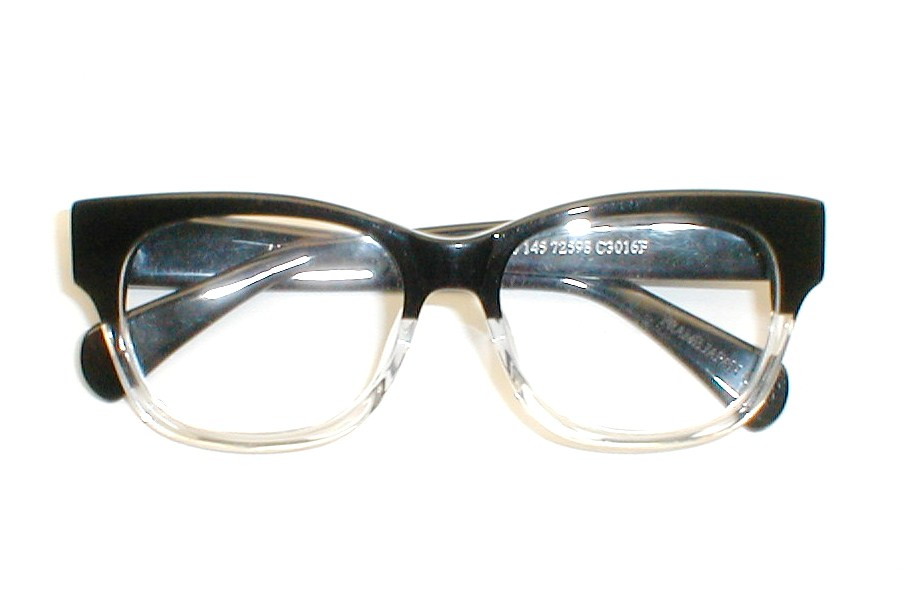 Eyeglass Frames Large Heads : Mens Vintage Eyeglasses XL, G-Man Eyeglasses