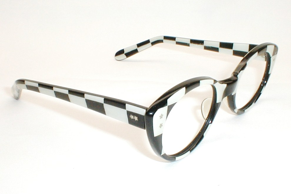 Glasses Frame In French : Vintage Catseye Glasses, Swank Frame France