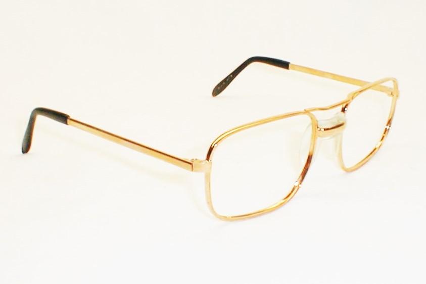 Mens Vintage Eyeglasses Bausch & Lomb Art-Decco Eyewear