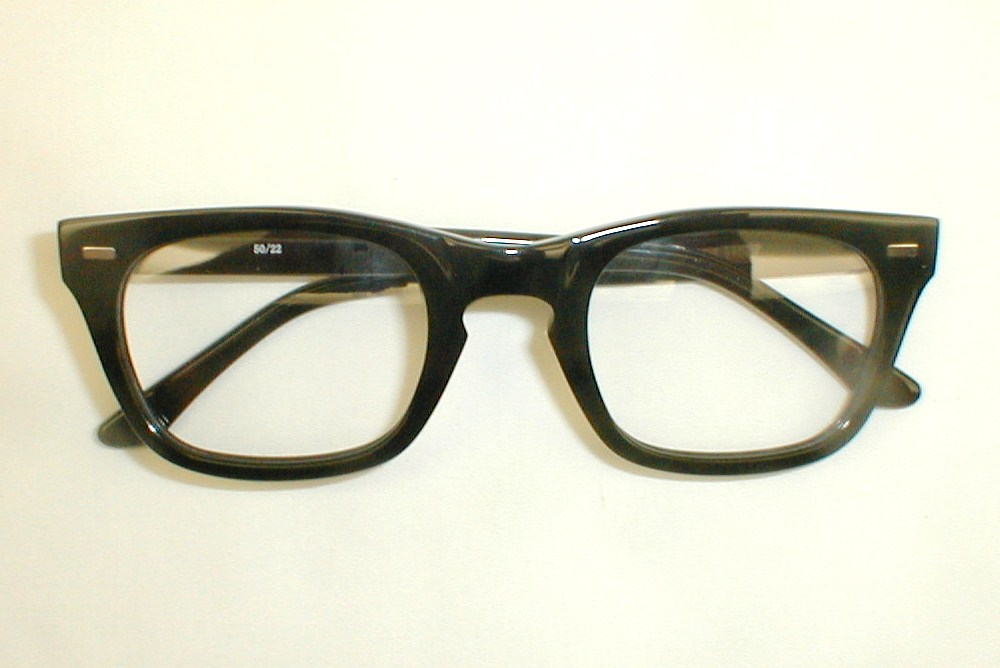Vintage Eyeglasses Mens Eye Glasses Frames, Mitch