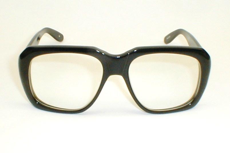 Vintage Mens Huge Eyeglasses Frames Ultra-Goliath Cazal ...