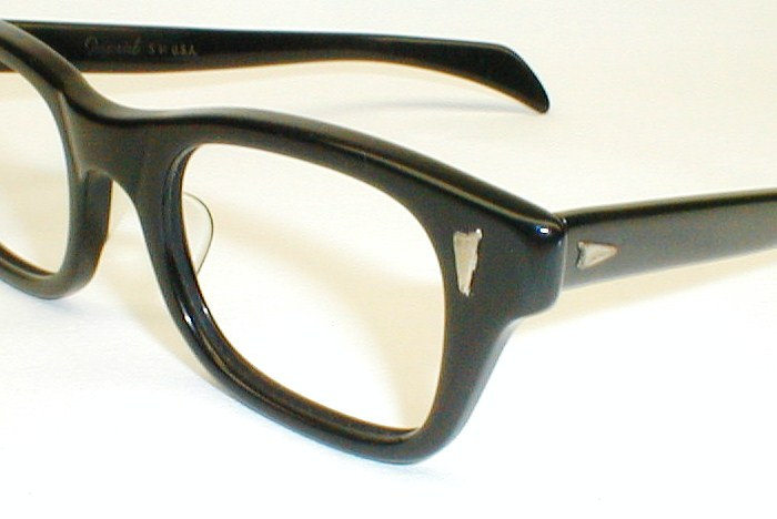 Good Eyeglass Frames For Thick Lenses : Mens Vintage Eyeglasses, 2-Tone Frames, Ward Optical, MOD