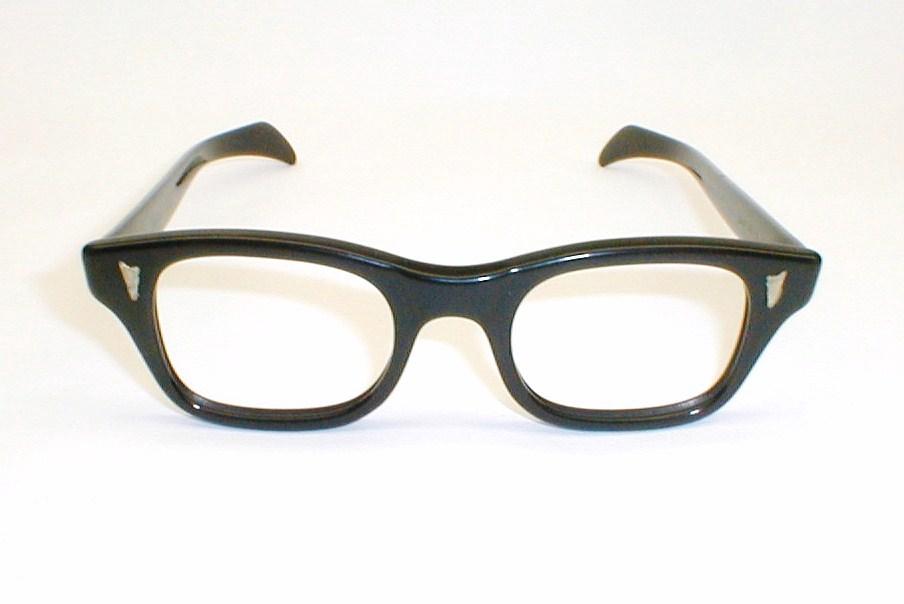 Mens Vintage Eyeglasses, 2-Tone Frames, Ward Optical, MOD