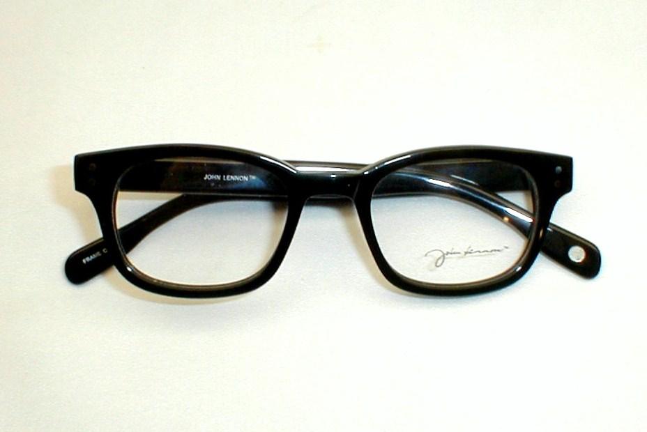 mens vintage eyeglasses mod 60s black eye frames