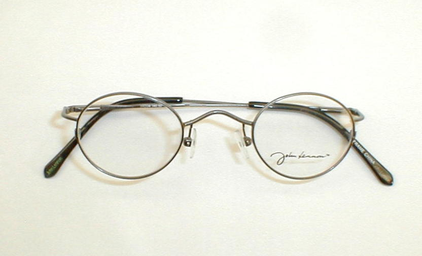 Glasses Frames John Lennon : Antique Gold Silver Spectacles John Lennon Reproduction Peace