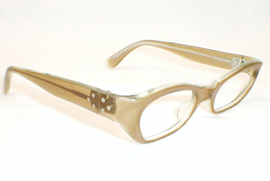 8eed6f6926 Vintage Cat Eye Glasses Eyeglasses 1950s 60s ZyLite Serena