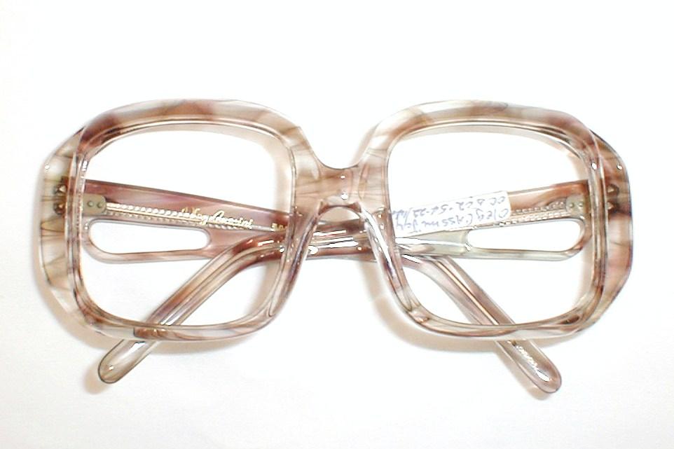 Oleg Cassini Vinetage Oversized Eyeglasses Frames