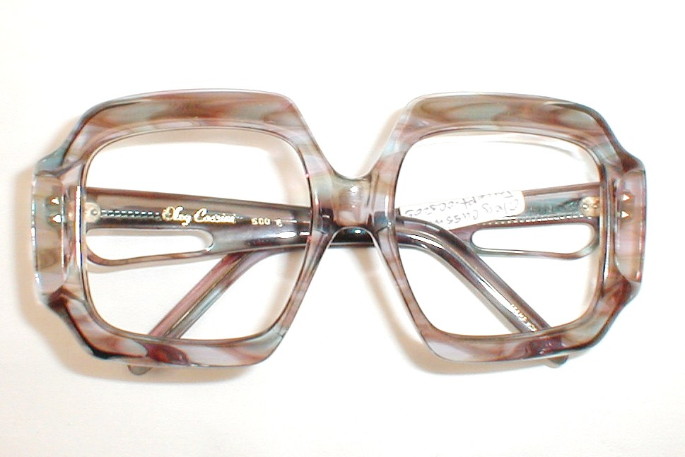 Oleg Cassini Vinetage Oversized Eyeglasses Frames