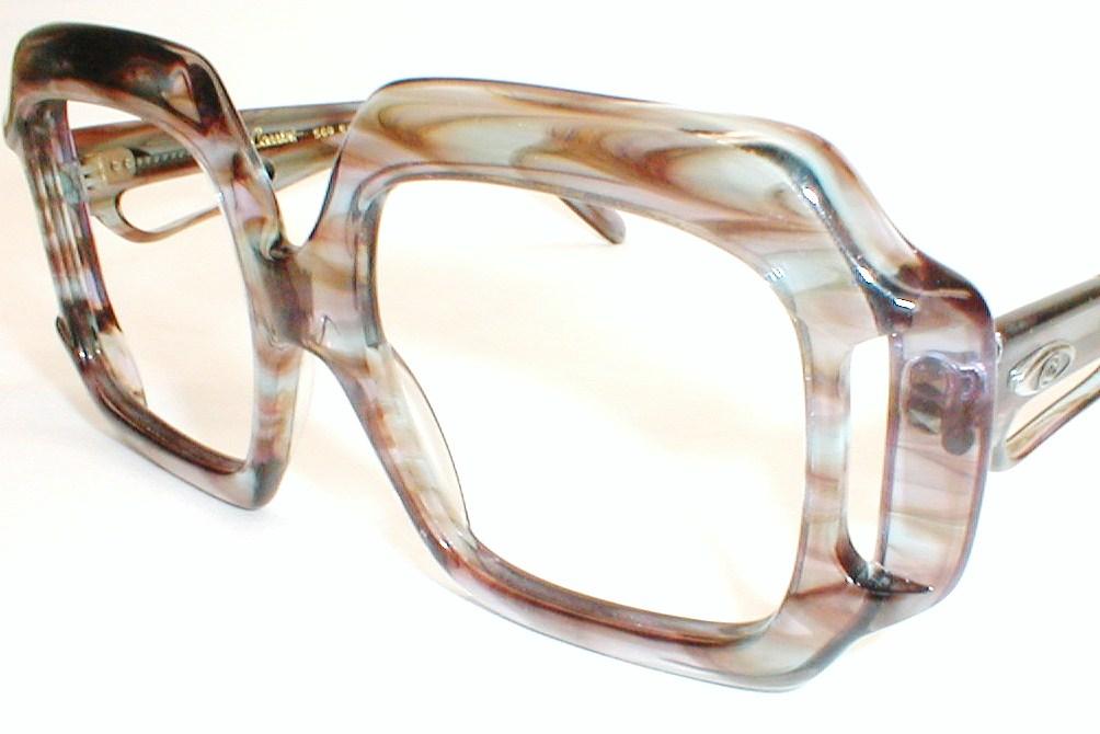 Large Designer Eyeglass Frames : Oleg Cassini Vinetage Oversized Eyeglasses Frames