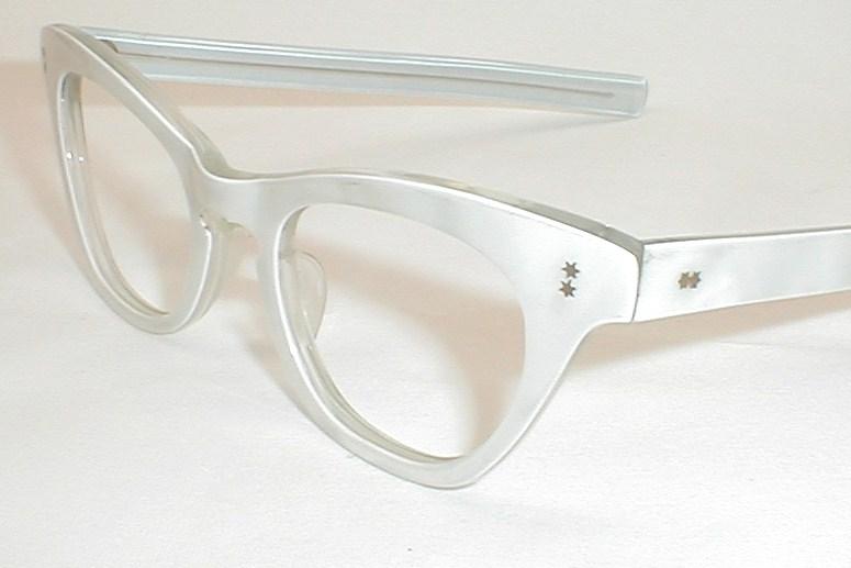 Womens Vintage Eyeglasses Cat Eye Glasses Frame France ...