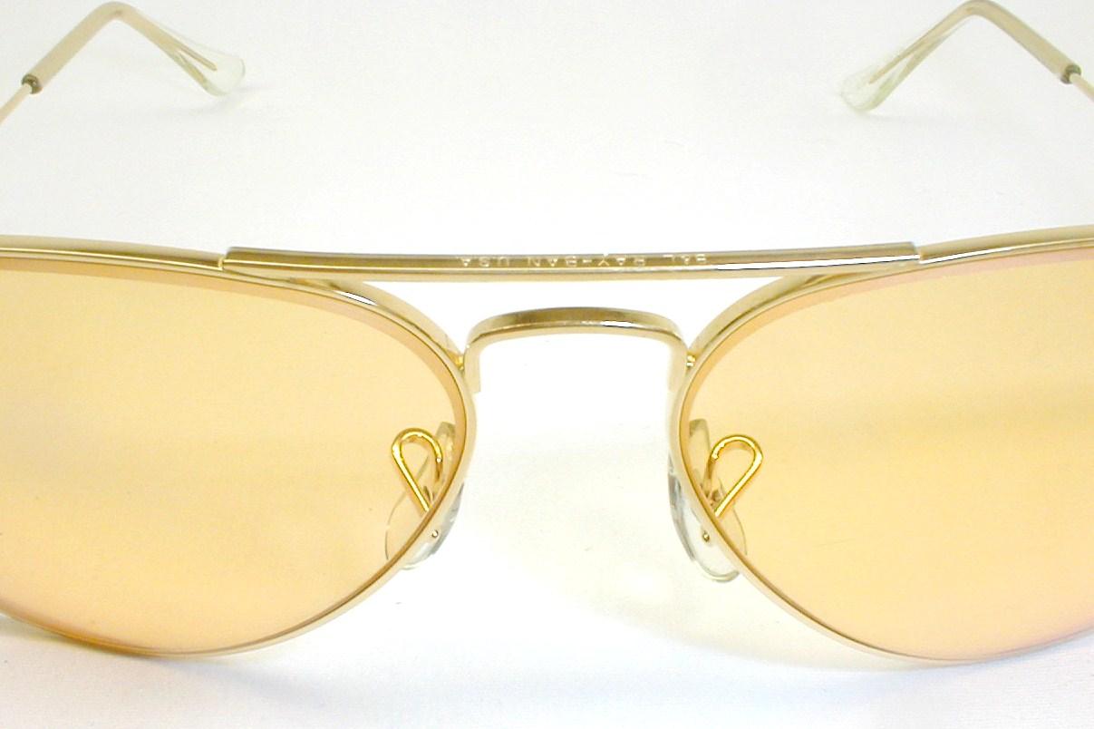 Ray Ban Aviator Sunglasses Photochromic Ambermatic
