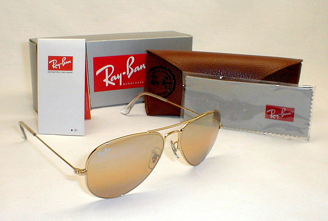 Vintage Aviator Style Amber Ray Ban Shooting Glasses