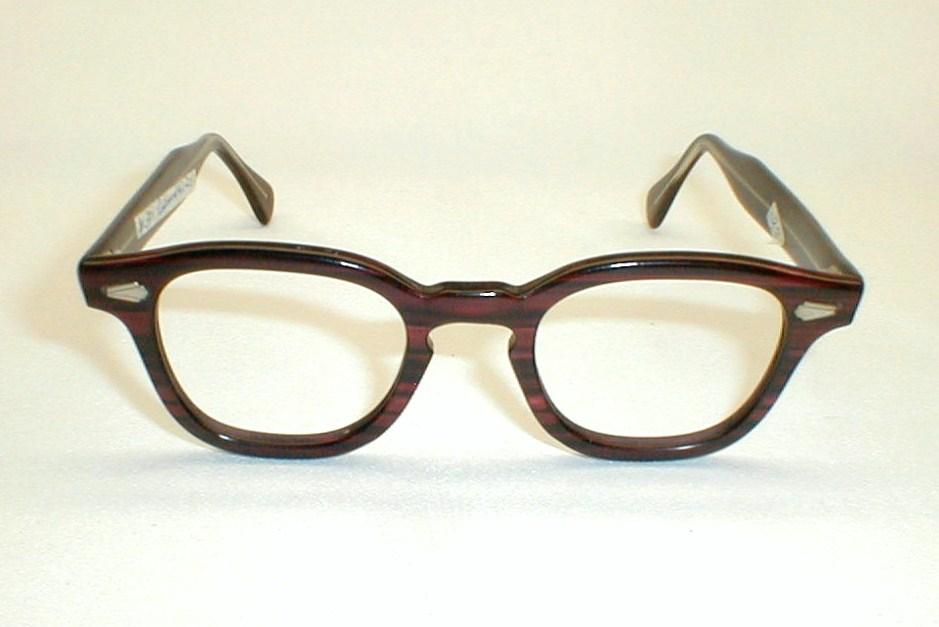 Eyeglass Frames Two Tone : mens Vintage ronsur 2-tone eyeglasses frames, G-Man