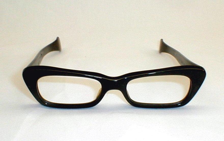 Italian Glasses Frame Company : Italian Black Eyeglasses Frames Black-Racer