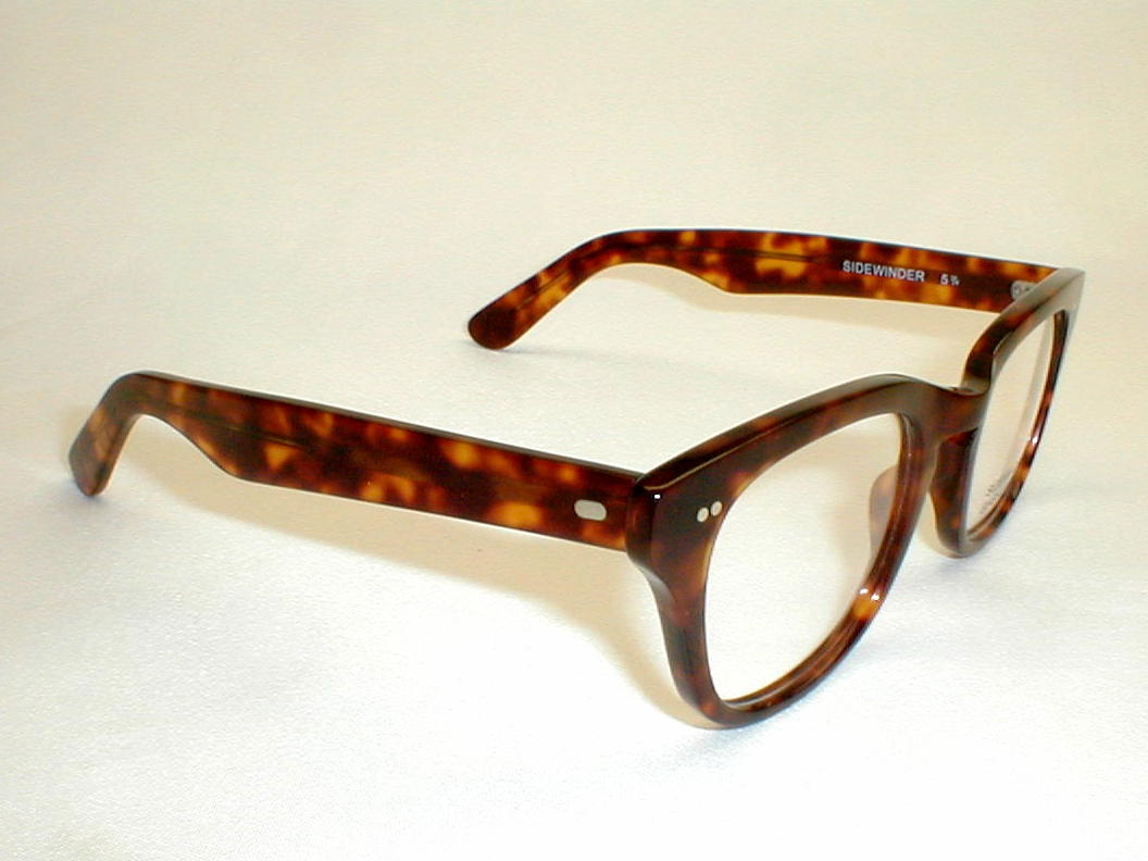 VINTAGE EYEGLASS FRAMES NEW YORK NEW GLASS