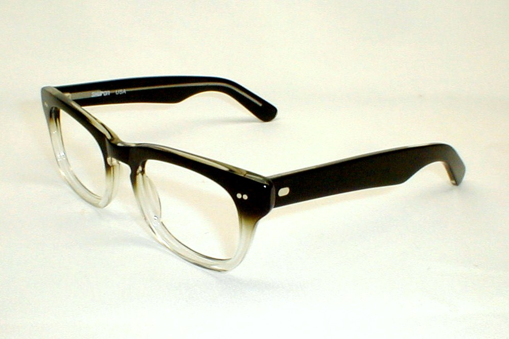 25bb686a23bb Mens Vintage Eyeglasses Frames Hornrim Sidewinder Shuron