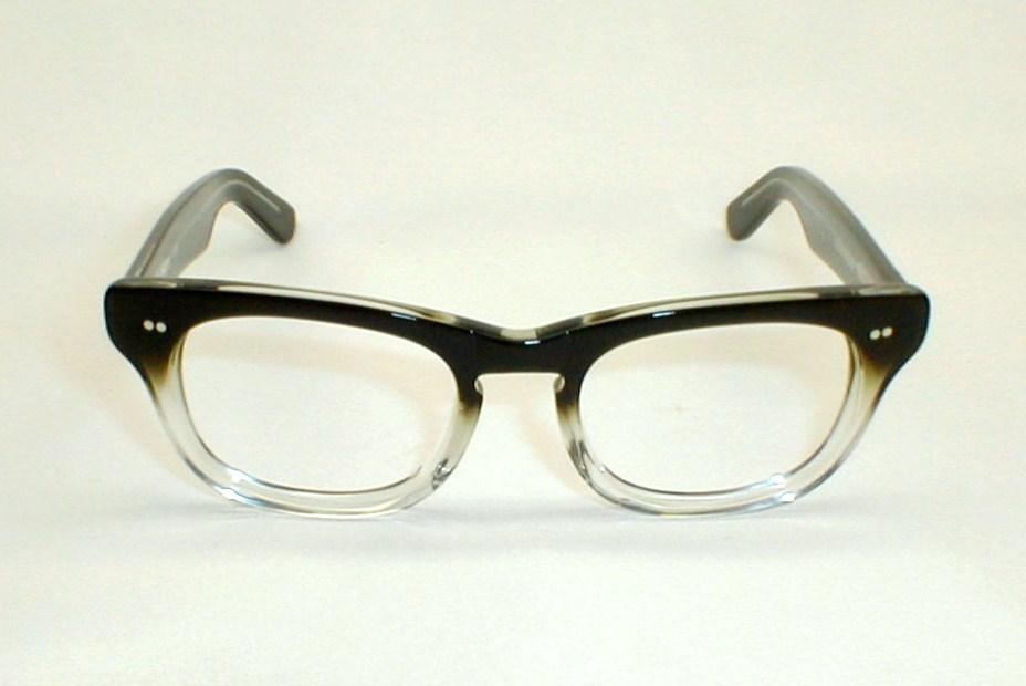 Mens Vintage Eyeglasses Frames Hornrim Sidewinder Shuron