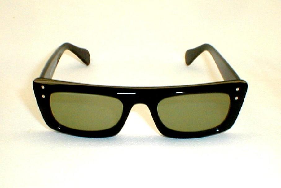 Glasses Frames From Italy : Mens Vintage Eyeglasses Eyewear Frame Italy Black Snapperaz