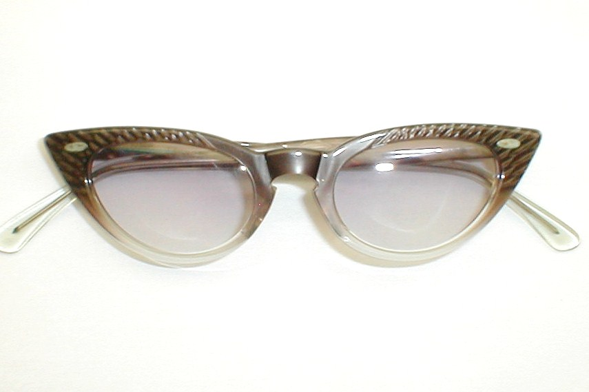 Vintage 1920s 30s Sunglasses Pink Hollywood
