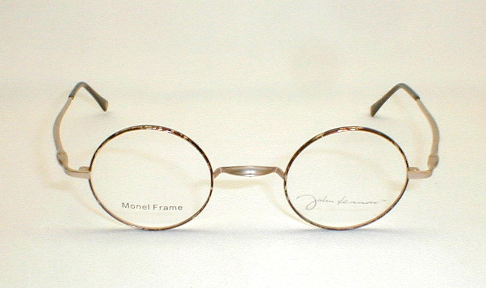 Antique Gold Silver John Lennon Collection Eyewear JLS260F