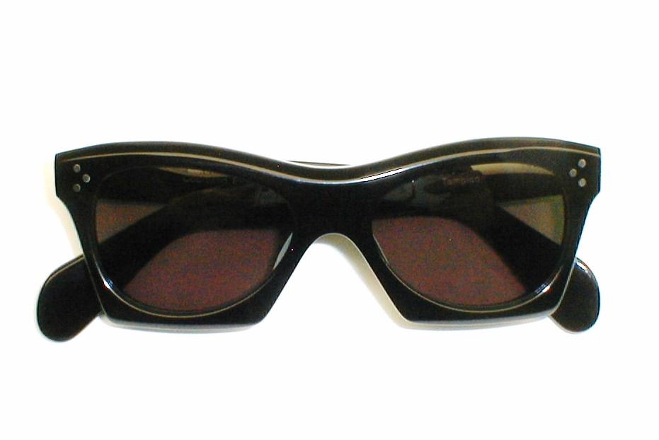 mens vintage zyloware eyeglasses 1950s 1960s frame france