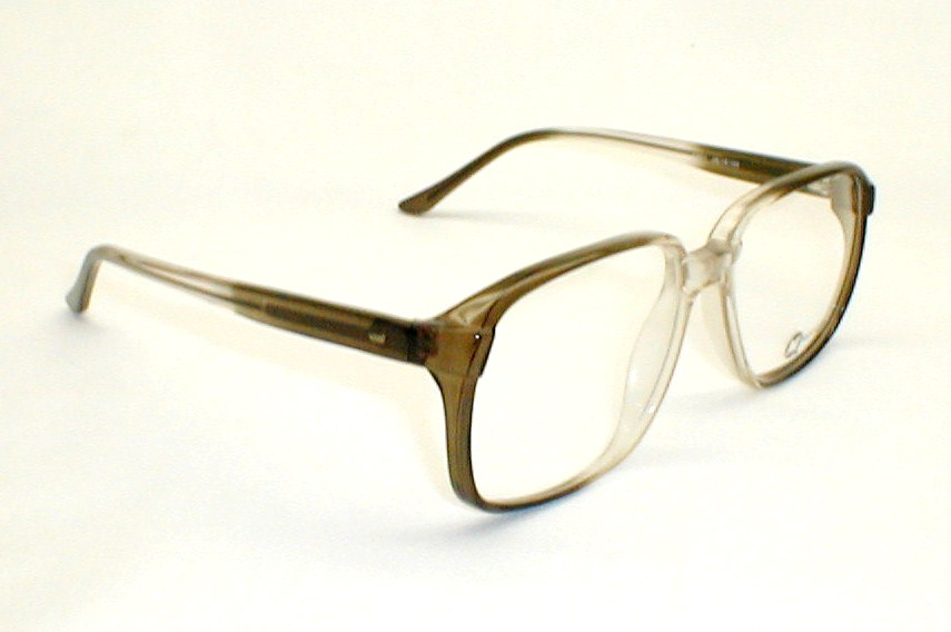 Eyeglass Frames Large Heads : Mens Vintage Eyeglasses, Large Oversized 70s Eyeglass Frames