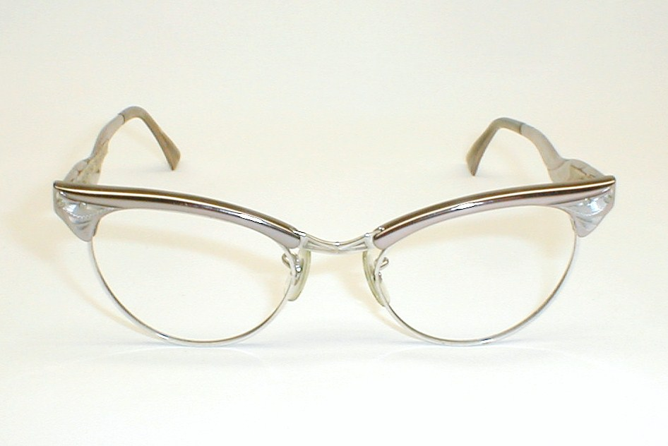 Vintage Cats Eye Sunglasses Vintage 12k gf Cat Eye Glasses