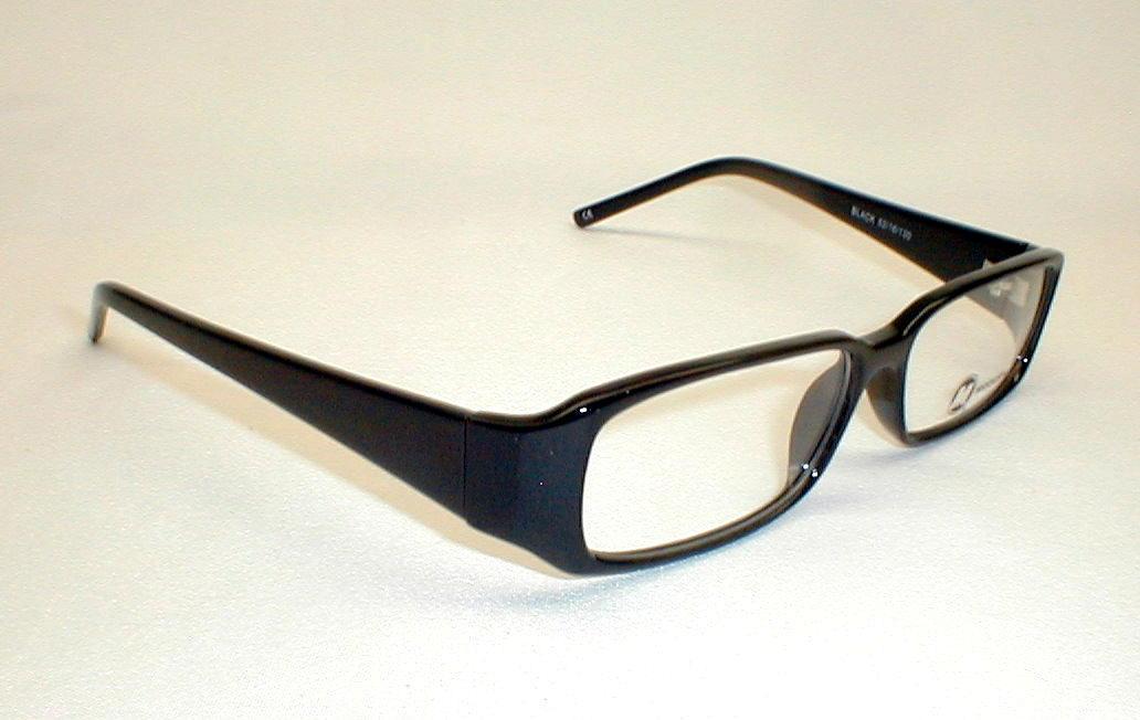 Vintage Mens Eyeglasses Frames Black 50s-60s Modern ...